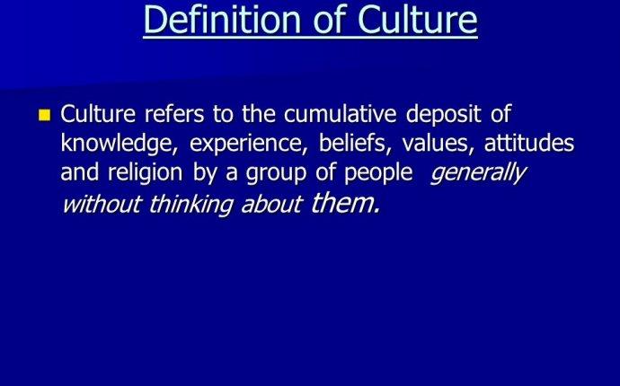 Cultural Diversity Definition