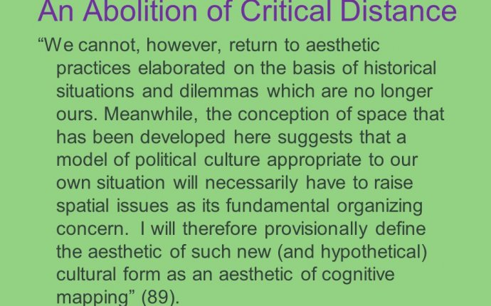 Critical distance definition sociology